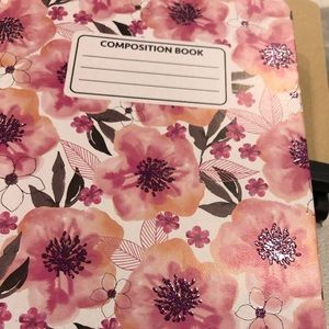 Floral Composition Notebook NWT